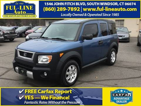 2006 Honda Element for sale in South Windsor, CT