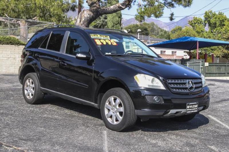 2006 Mercedes Benz M Class Awd Ml 350 4matic 4dr Suv In La Crescenta