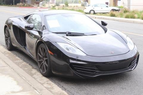 Mclaren Mp4 12c For Sale California