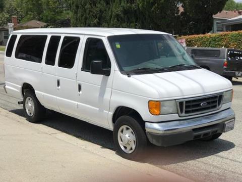 2007 Ford E-Series Wagon for sale in La Crescenta, CA