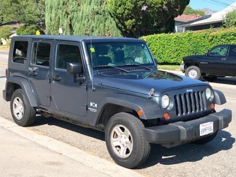 2007 Jeep Wrangler Unlimited for sale in La Crescenta, CA