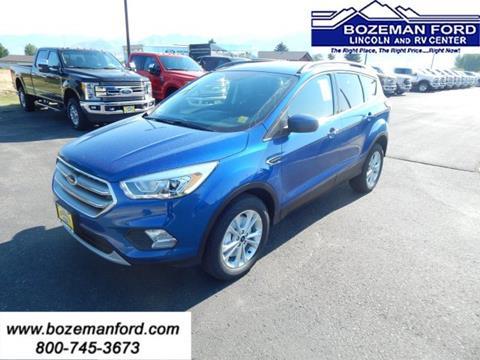 2017 Ford Escape for sale in Bozeman MT