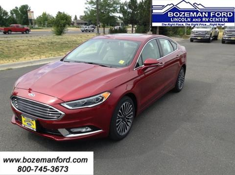 2017 Ford Fusion for sale in Bozeman MT