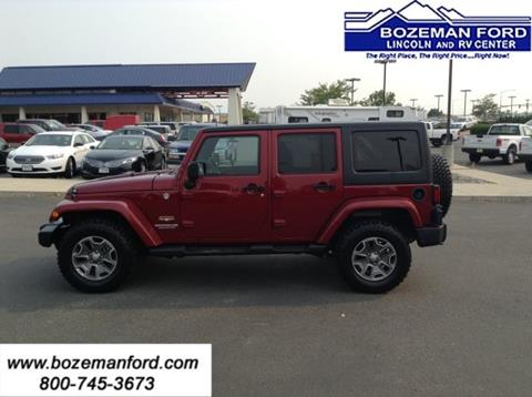 2013 Jeep Wrangler Unlimited for sale in Bozeman MT