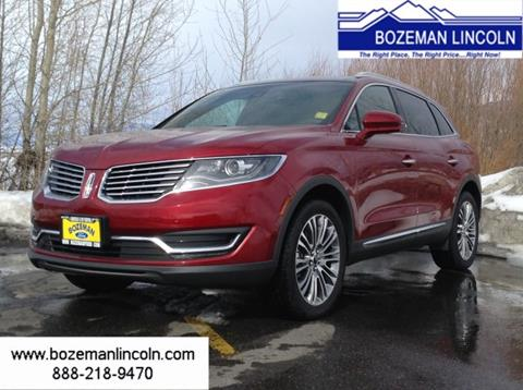 2017 Lincoln MKX for sale in Bozeman MT