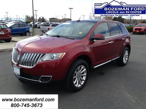 2014 Lincoln MKX for sale in Bozeman MT
