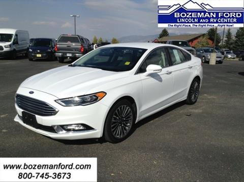 2017 Ford Fusion for sale in Bozeman, MT