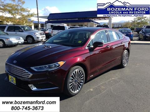 2018 Ford Fusion for sale in Bozeman, MT