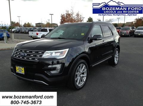 2016 Ford Explorer for sale in Bozeman, MT