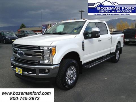 2017 Ford F-250 Super Duty for sale in Bozeman, MT