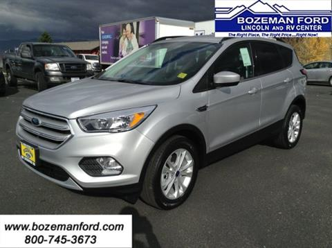 2018 Ford Escape for sale in Bozeman, MT
