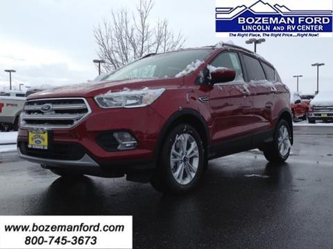 2018 Ford Escape for sale in Bozeman MT