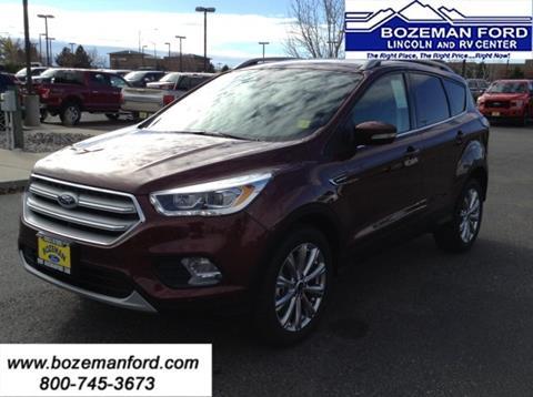2018 Ford Escape for sale in Bozeman, MT