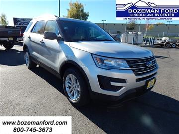 2017 Ford Explorer for sale in Bozeman, MT
