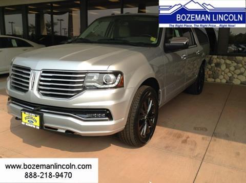 2017 Lincoln Navigator L for sale in Bozeman MT