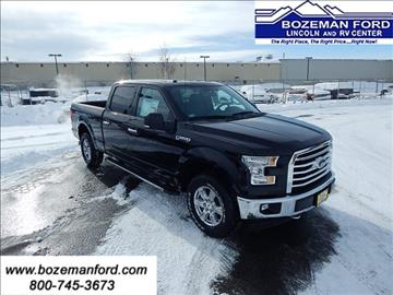 2017 Ford F-150 for sale in Bozeman, MT