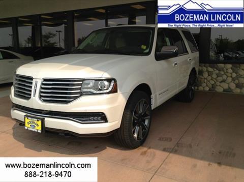 2017 Lincoln Navigator for sale in Bozeman MT