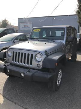 2016 Jeep Wrangler Unlimited for sale in North Providence, RI