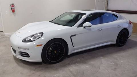 2014 Porsche Panamera for sale at REES AUTO BROKERS in Washington UT