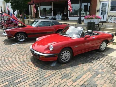Alfa Romeo Spider For Sale In Illinois Carsforsalecom - Alfa romeo spider for sale