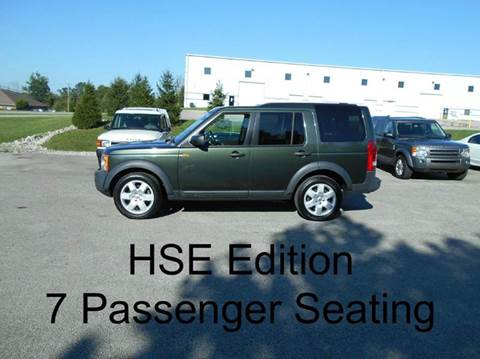 2007 Land Rover LR3 for sale at Platinum Auto Group in La Grange KY