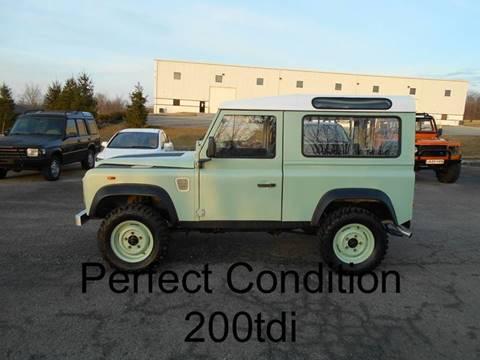 Land Rover Defender 90 For Sale >> Land Rover Defender For Sale Carsforsale Com