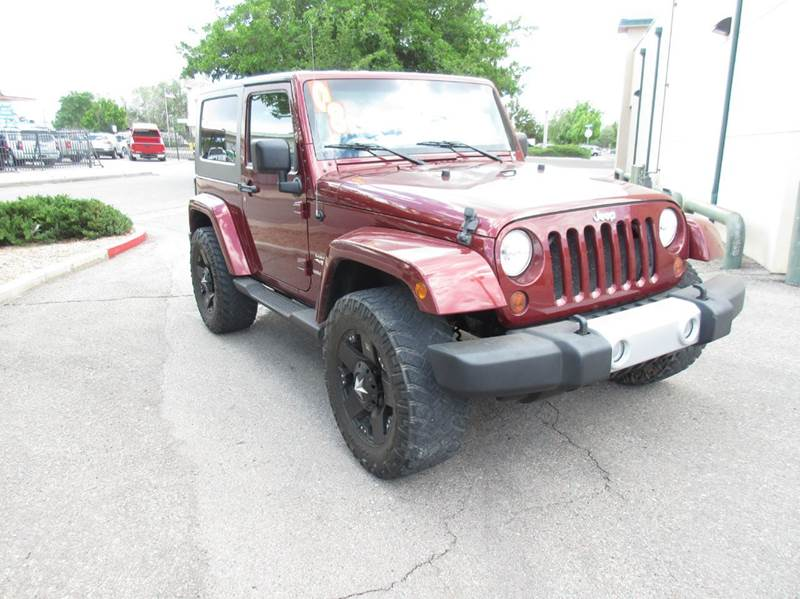 2008 Jeep Wrangler for sale at High Desert Auto Wholesale in Albuquerque NM
