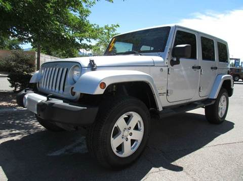 2012 Jeep Wrangler Unlimited for sale at High Desert Auto Wholesale in Albuquerque NM
