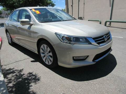 2013 Honda Accord for sale at High Desert Auto Wholesale in Albuquerque NM