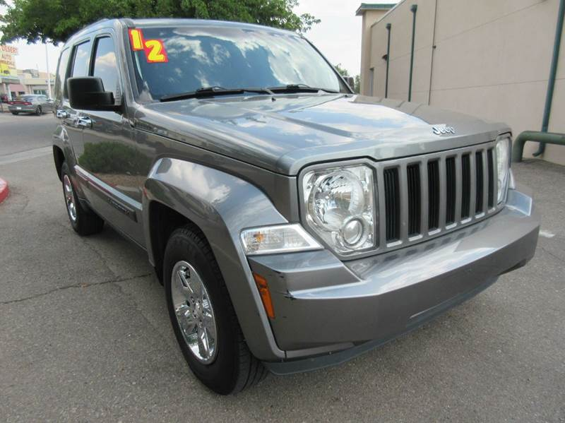 2012 Jeep Liberty for sale at High Desert Auto Wholesale in Albuquerque NM