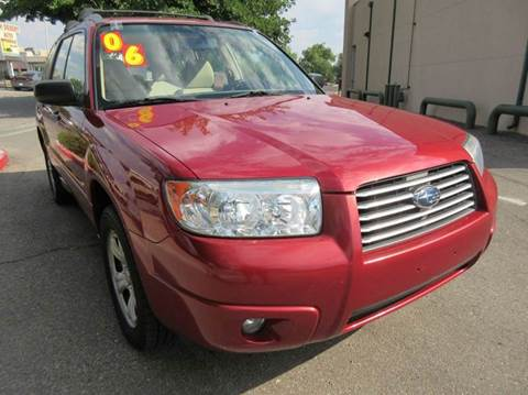 2006 Subaru Forester for sale at High Desert Auto Wholesale in Albuquerque NM