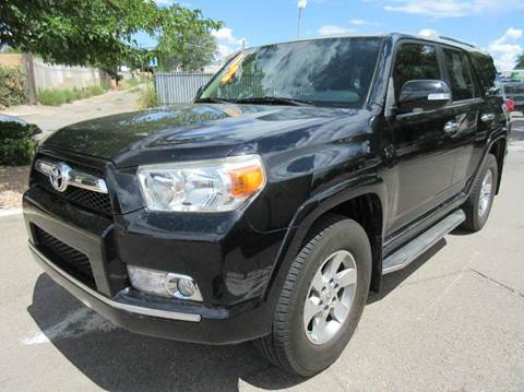 2012 Toyota 4Runner for sale at High Desert Auto Wholesale in Albuquerque NM