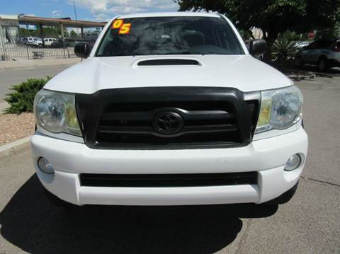 2005 Toyota Tacoma for sale at High Desert Auto Wholesale in Albuquerque NM