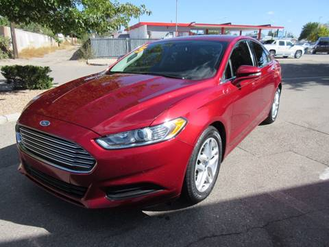 2015 Ford Fusion for sale in Albuquerque, NM