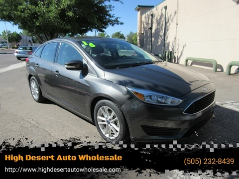 2016 Ford Focus for sale in Albuquerque, NM
