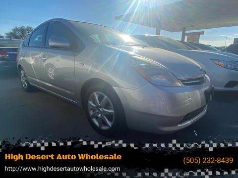 2009 Toyota Prius for sale at High Desert Auto Wholesale in Albuquerque NM