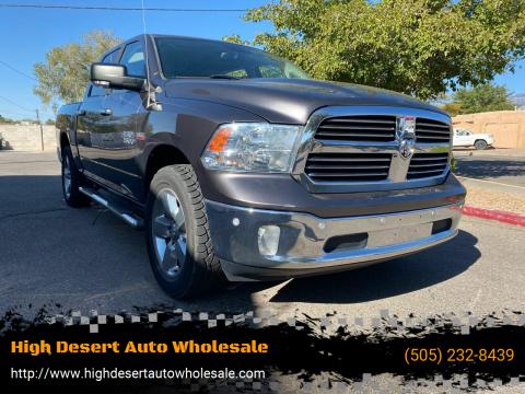 2014 RAM Ram Pickup 1500 for sale at High Desert Auto Wholesale in Albuquerque NM