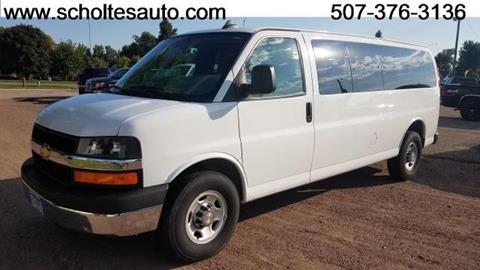 2016 Chevrolet Express Passenger for sale in Worthington, MN