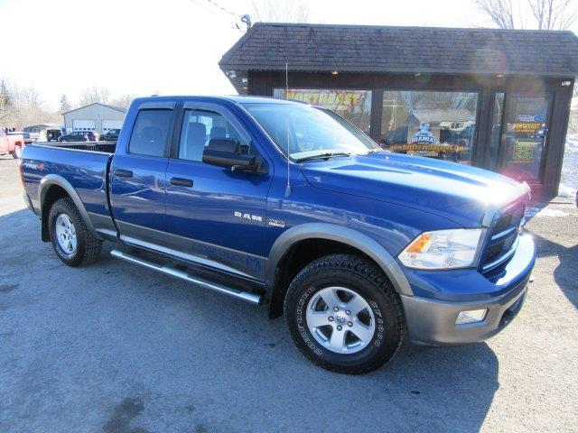 2010 Dodge Ram Pickup 1500 4x4 TRX4 Off Road 4dr Quad Cab 6.3 ft. SB Pickup - Clinton NY