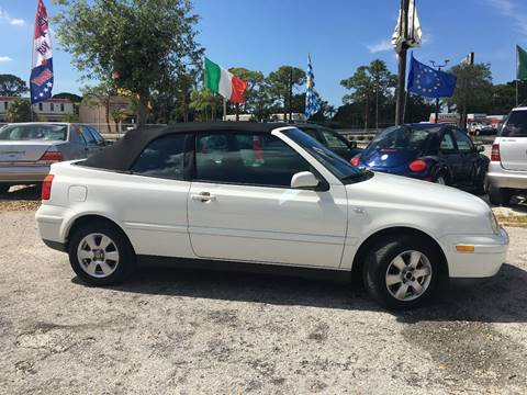 2000 Volkswagen Cabrio for sale in Sarasota, FL