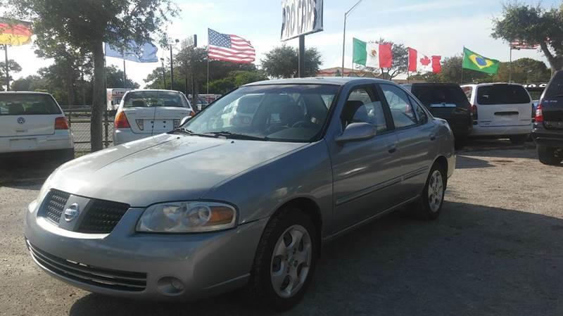 2004 Nissan Sentra 1.8 S 4dr Sedan   Sarasota FL