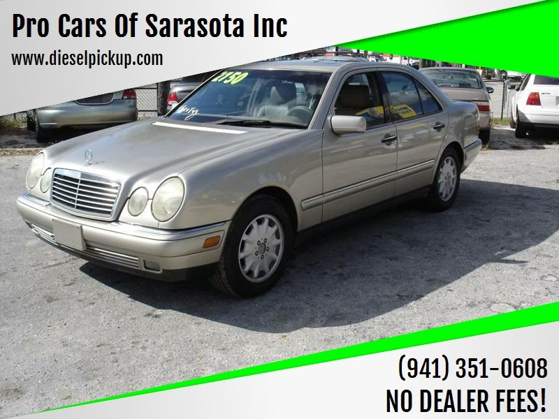 Mercedes Benz Sarasota >> 1998 Mercedes Benz E Class Awd E 320 4matic 4dr Sedan In