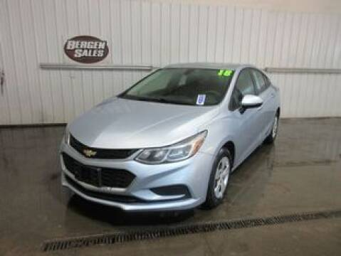 2018 Chevrolet Cruze LS Auto for sale at BERGEN SALES INC in Bergen NY