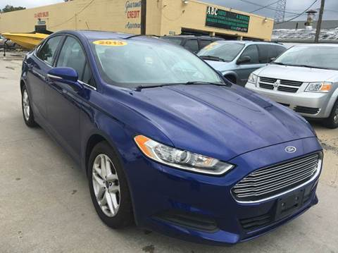 2013 Ford Fusion for sale at City Auto Sales in Roseville MI