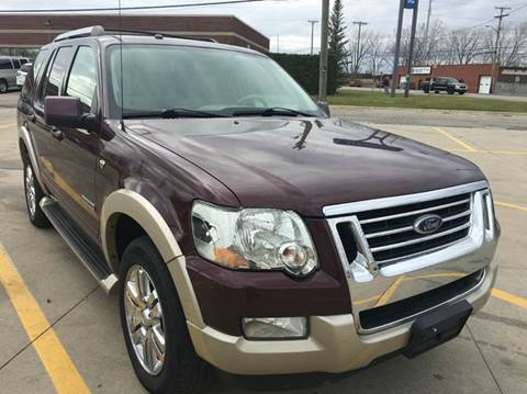 2007 Ford Explorer for sale at City Auto Sales in Roseville MI