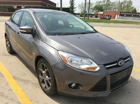 2013 Ford Focus for sale at City Auto Sales in Roseville MI