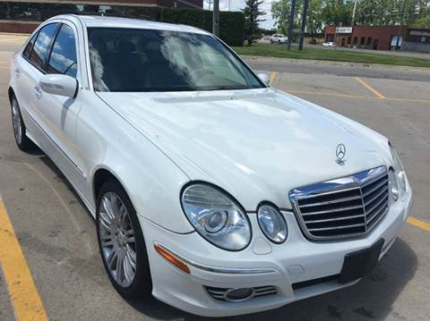 2008 Mercedes-Benz E-Class for sale at City Auto Sales in Roseville MI