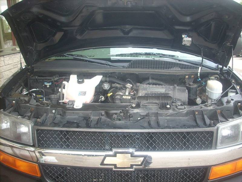 2011 Chevrolet Express Passenger for sale at GREENFIELD MOTORS in Milwaukee WI