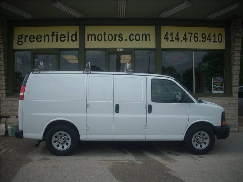 2011 Chevrolet Express Cargo for sale at GREENFIELD MOTORS in Milwaukee WI