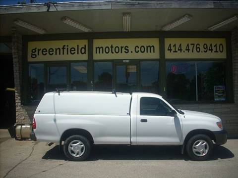 2006 Toyota Tundra for sale at GREENFIELD MOTORS in Milwaukee WI